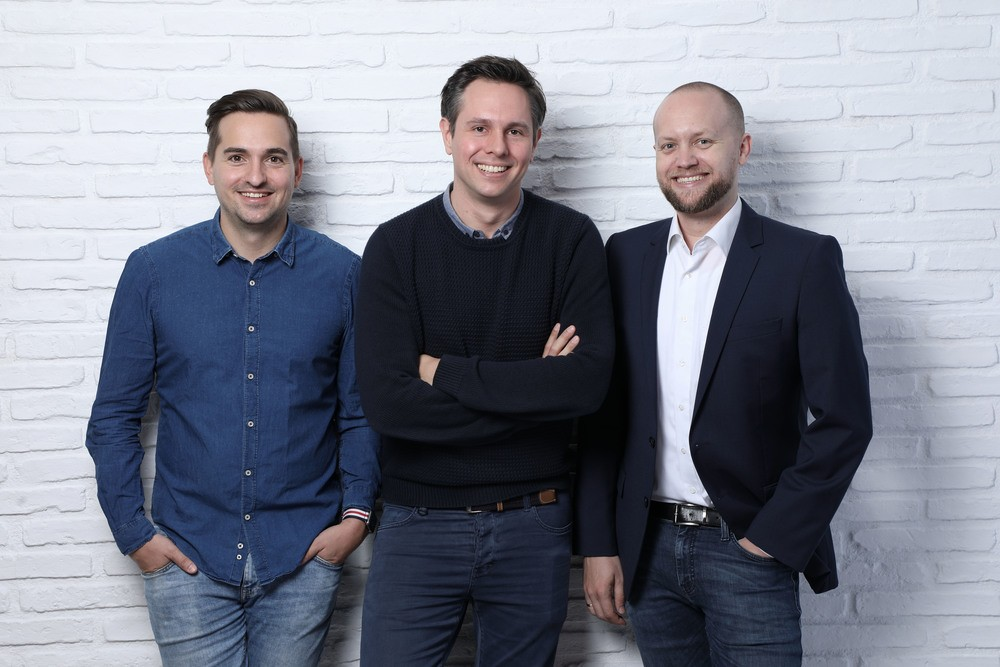 Die 3 Gründer von Bilendo